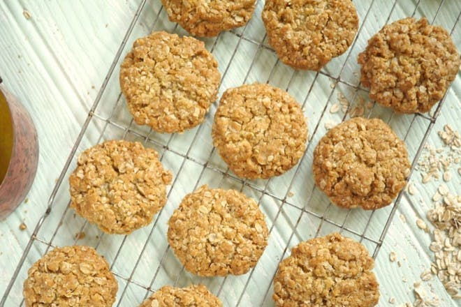 25. Oaty biscuits