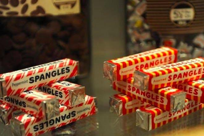 Spangles retro sweets