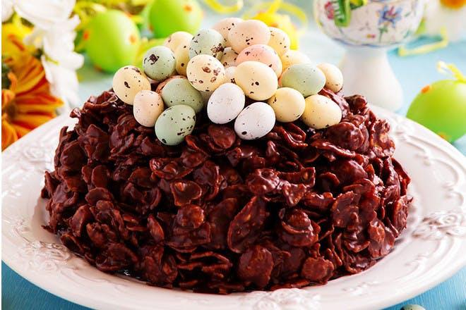 2. Giant cornflake cake