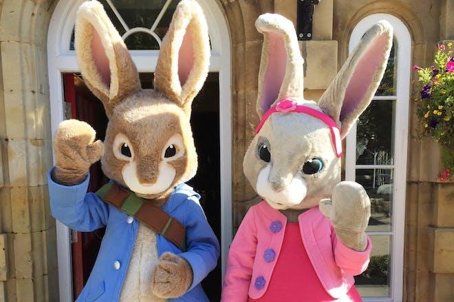 Meet Peter Rabbit and Lily Bobtail at Flamingo Land, Yorkshire