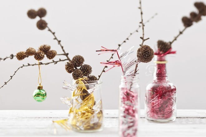 sparking table decorations