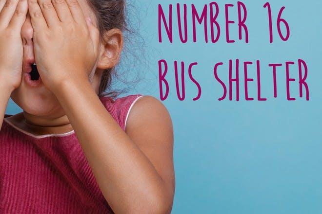 number 16 bus shelter
