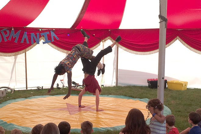 Big Top Mania at Pennfest 2017