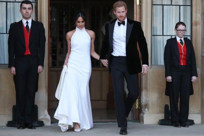 Meghan Markle royal wedding reception dress