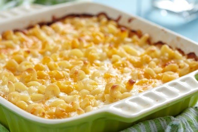 25. Macaroni cheese