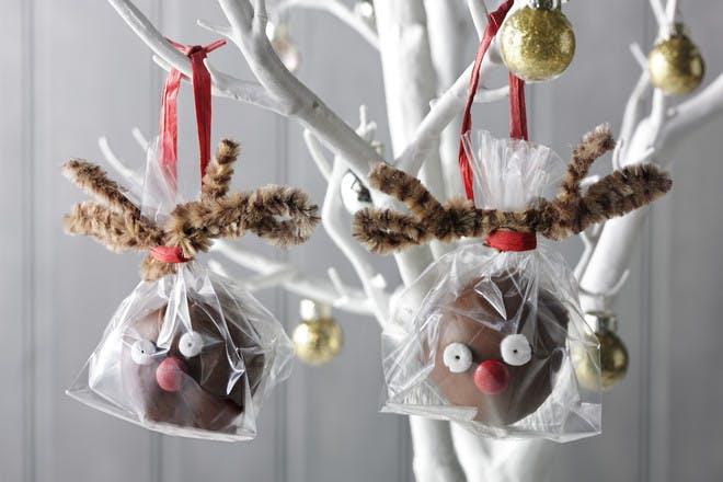 Red-nose reindeer biscuits recipe