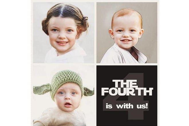 Star Wars pregnancy announcement