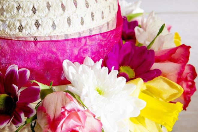 Flowery Easter bonnet