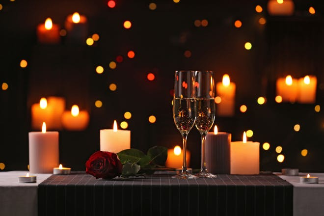 11. Cook a romantic meal at home