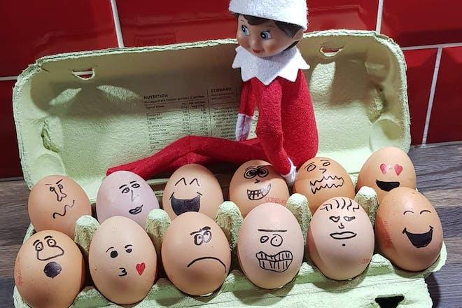 78. Funny eggs