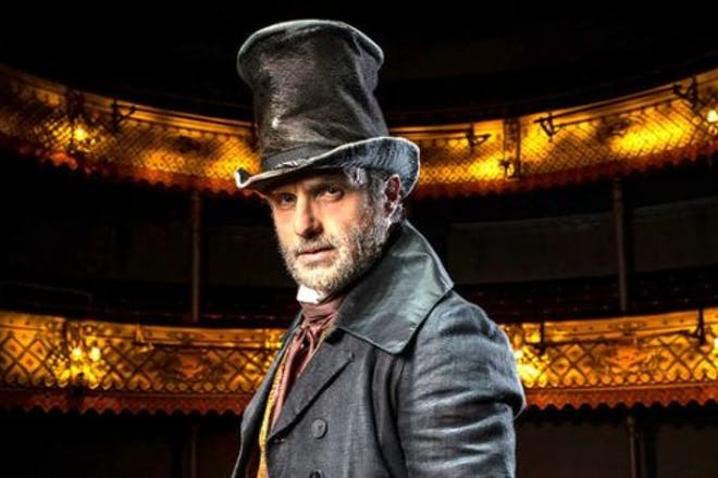Andrew Lincoln as Scrooge in A Christmas Carol at the Old Vic: In Camera