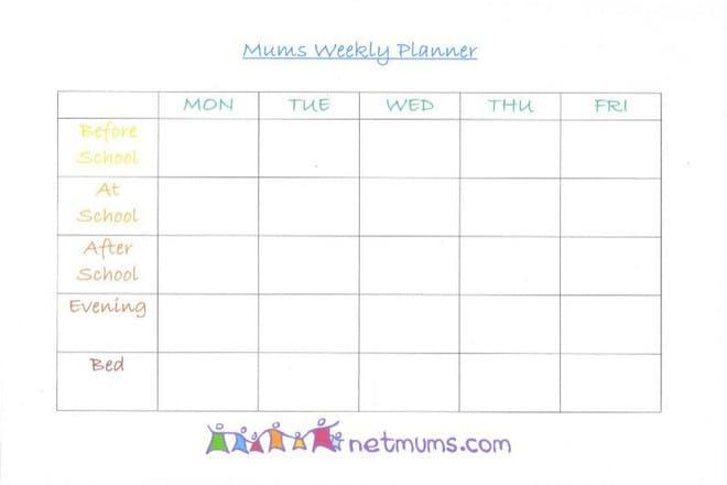 mum's planner