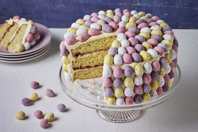 Mini Egg layer cake recipe