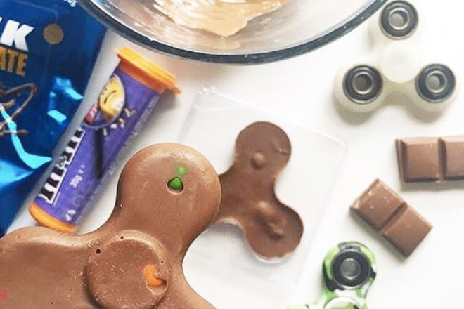 4. Chocolate fidget spinners