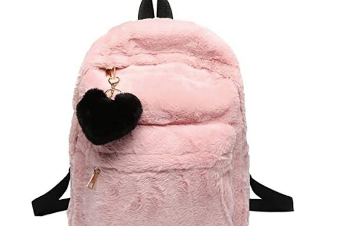 Furry rucksack