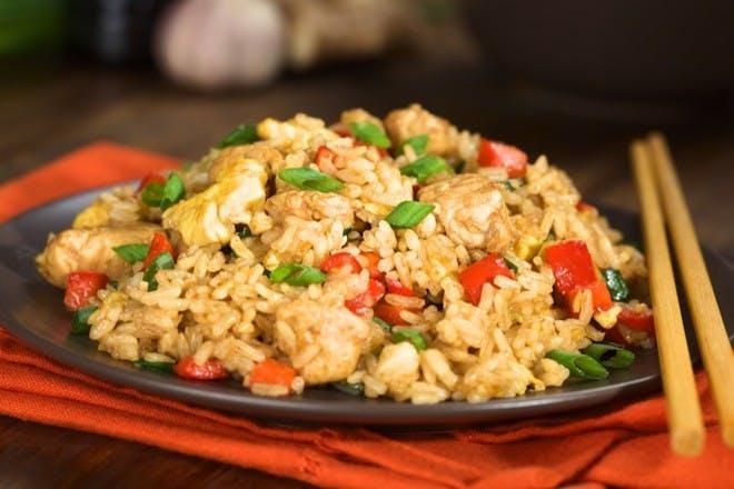 5. Cheat's chicken fried rice
