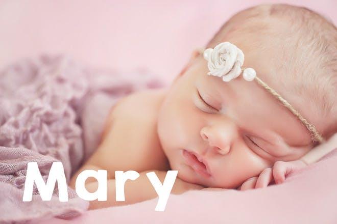Baby with headband