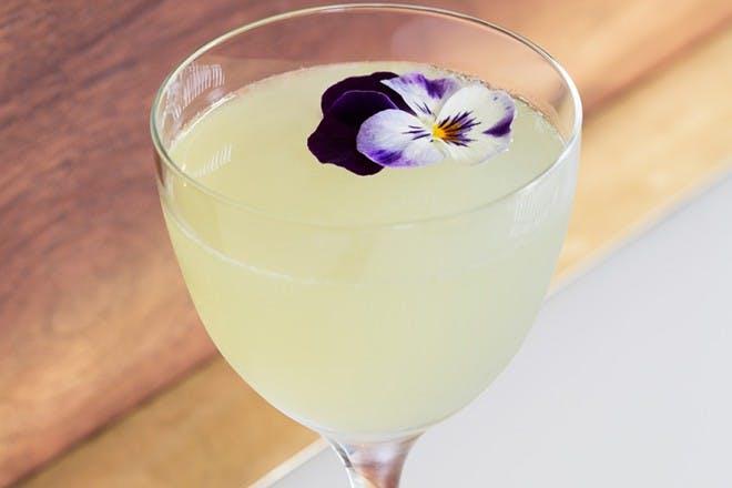 5. Garnish with a flower