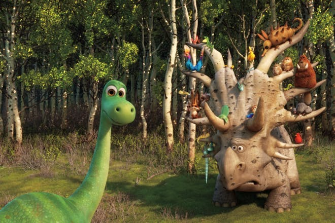 6. The Good Dinosaur (PG)