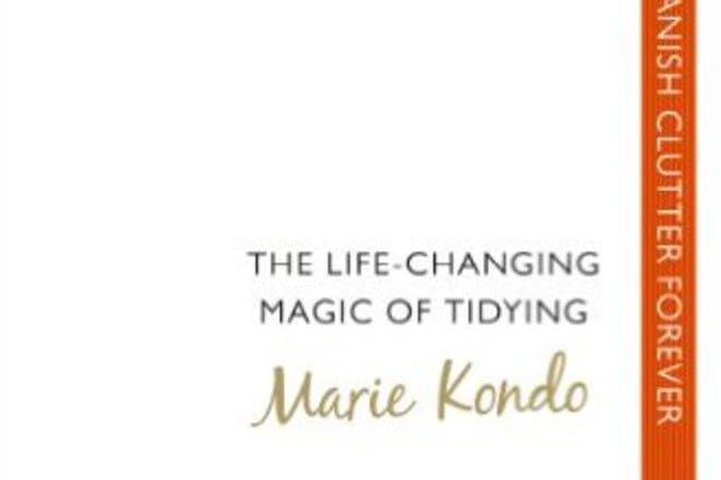 marie kondo book tidying