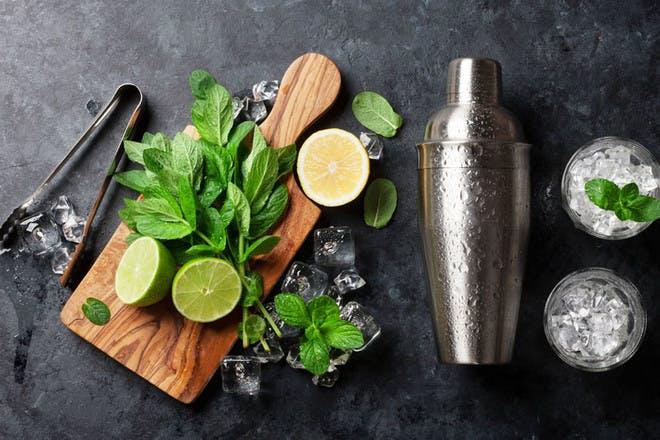 Create a DIY bar at home