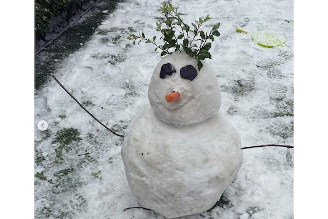 Izzy Judd snow