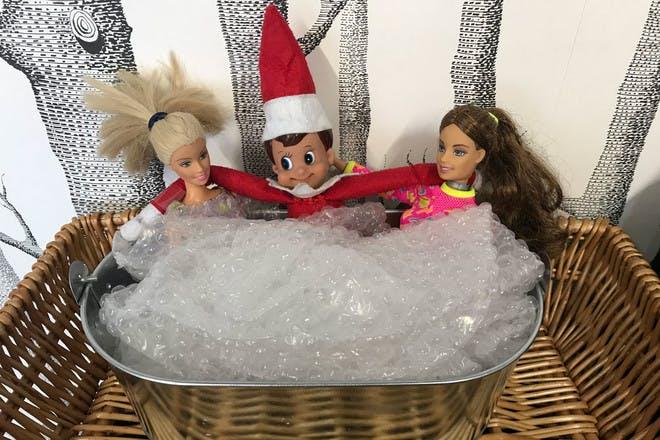 12. Fun in the hot tub