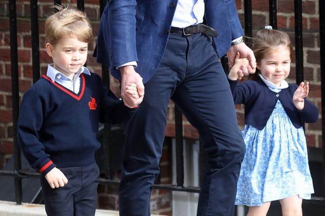The cutest photos of Prince George, Princess Charlotte and Prince Louis