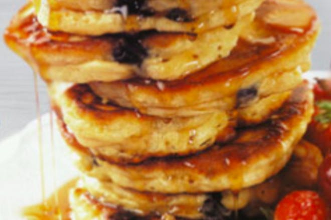 13. Slimming World blueberry pancakes