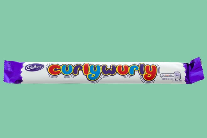 Cadbury's Curly Wurly chocolate bar