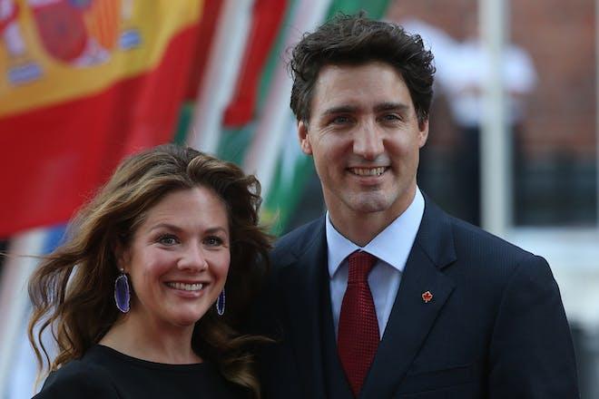 Justin Trudeau and Sophie Grégoire Trudeau