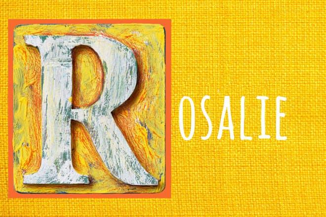 Baby name Rosalie