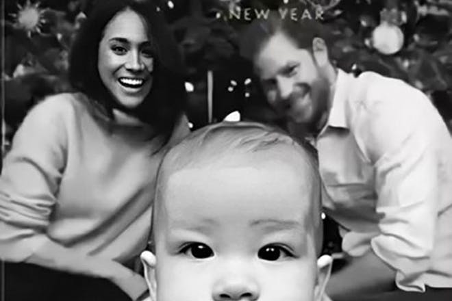 1. Prince Harry, Meghan Markle and Archie