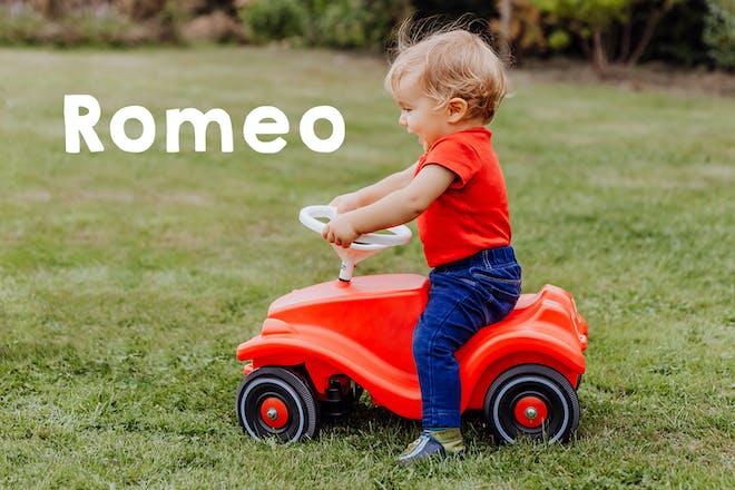 Romeo baby name