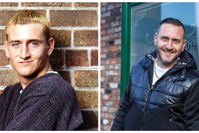 Will Mellor then and now