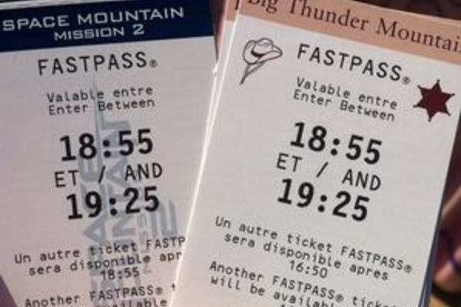 2. Get your free FAST PASS
