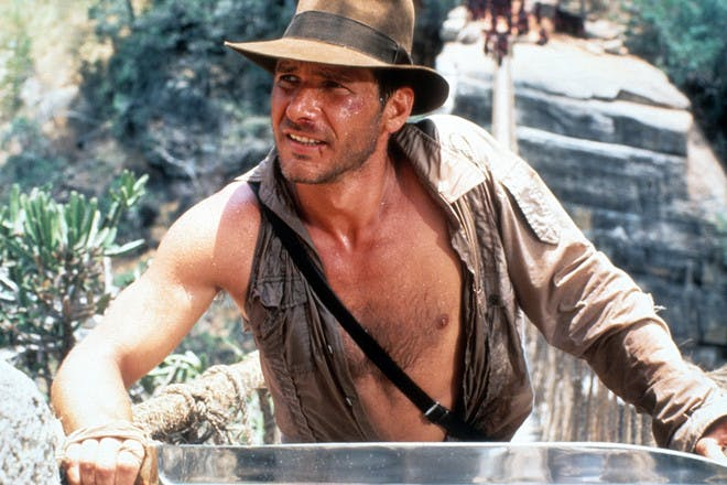 Harrison Ford in Indiana Jones: The Temple of Doom