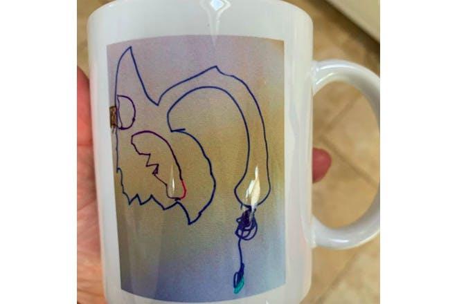 Wendy's mug
