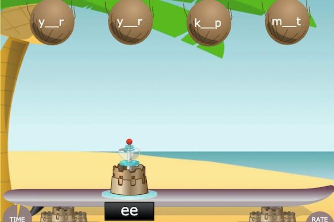 Coconut Vowels screenshot