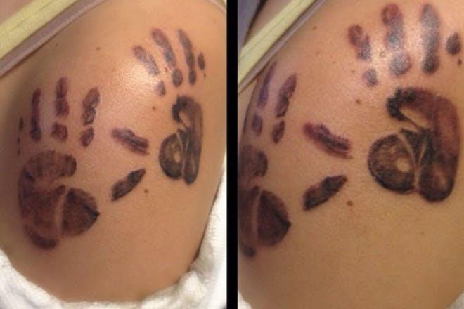 handprint tattoo