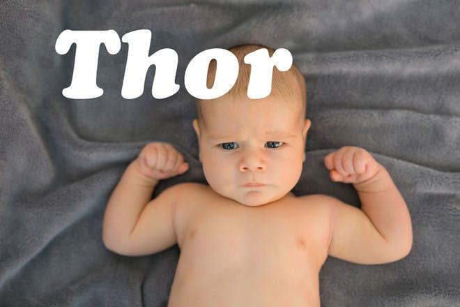 Baby name Thor