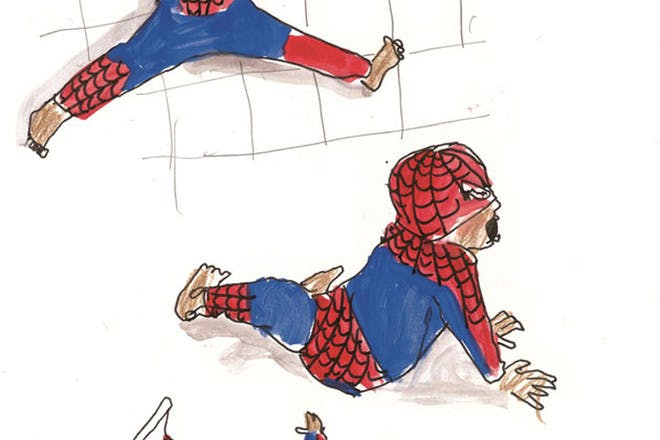 Spiderman tantrum