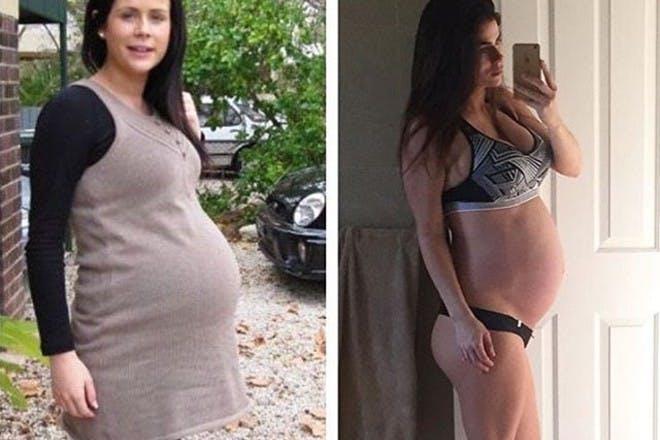 one mum different pregnancies