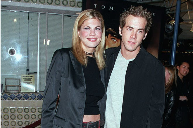 Ryan Reynolds and Kristen Johnson