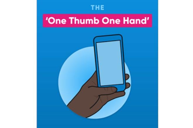 One thumb one hand