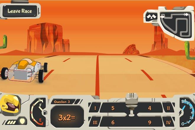 Rally V10 maths game