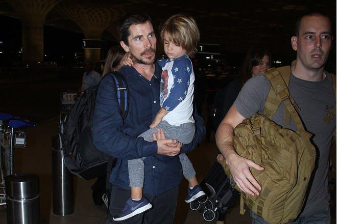 Christian Bale son