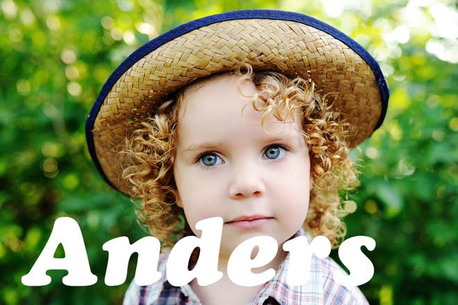Baby name Anders