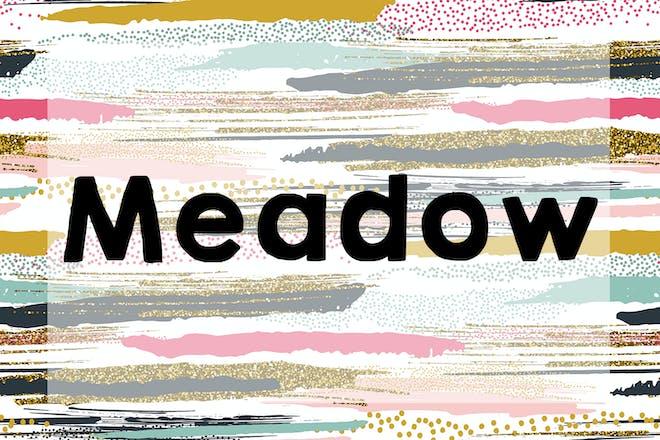 Meadow name
