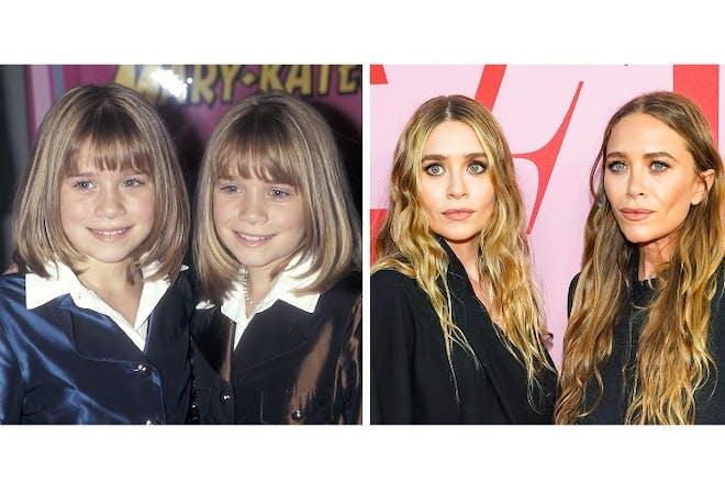 2. Mary-Kate and Ashley Olsen